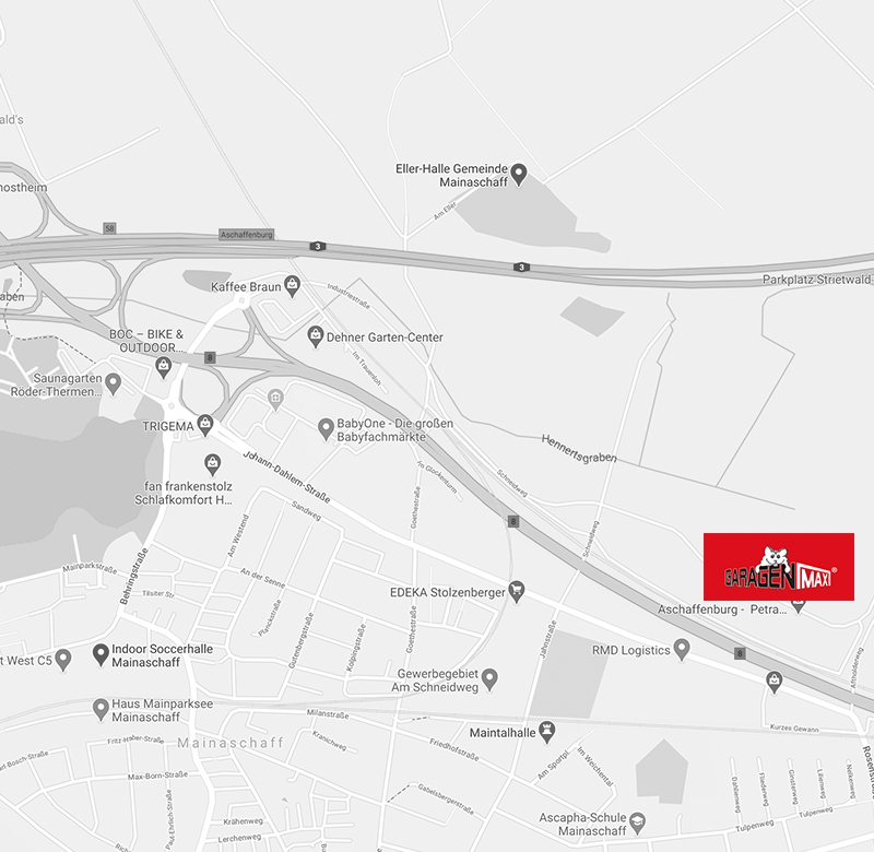 GaragenMAX LagerPark in Aschaffenburg