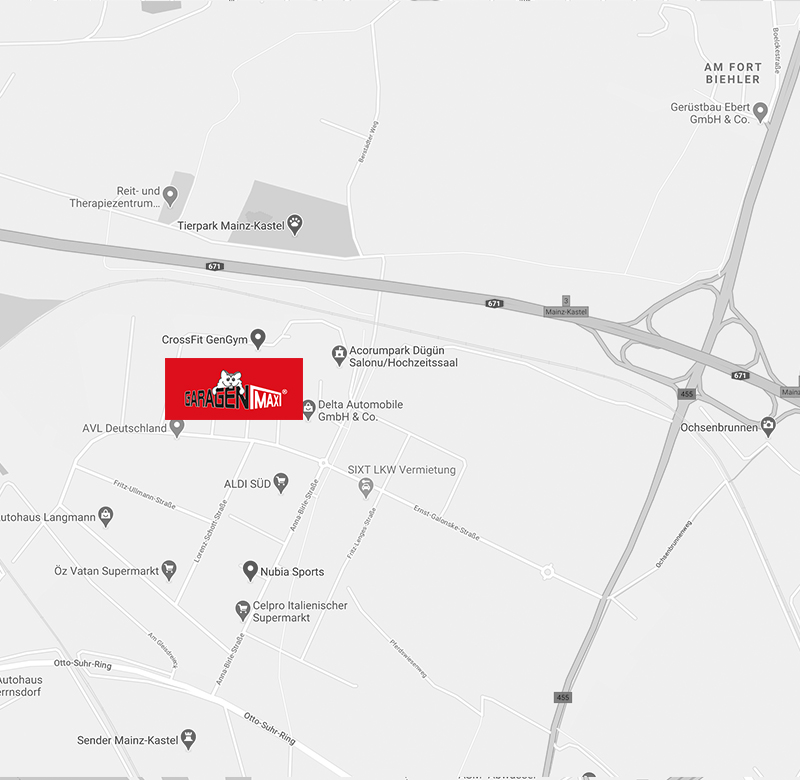 GaragenMAX LagerPark in Mainz-Kastel
