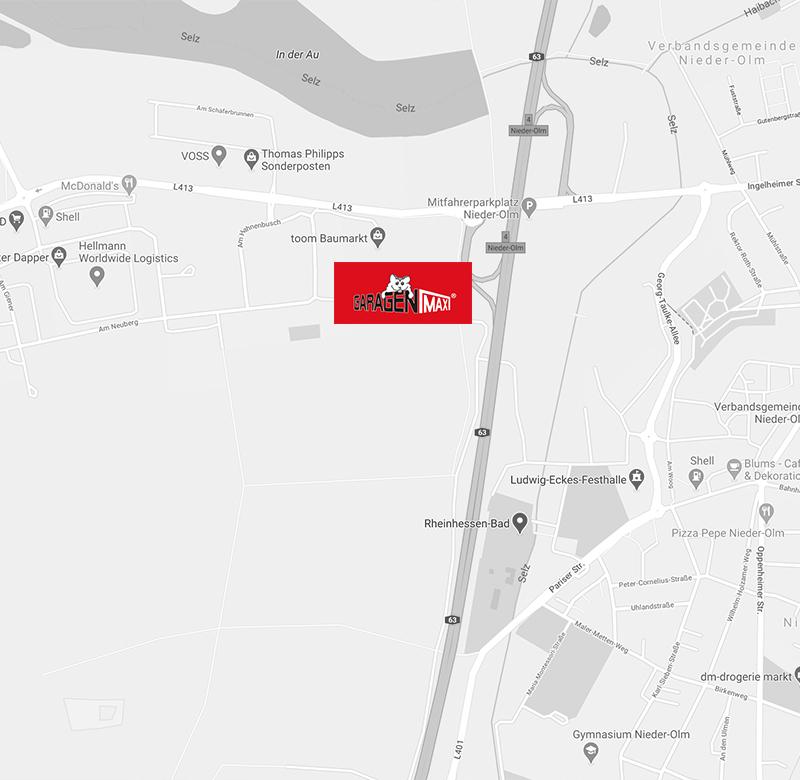 GaragenMAX LagerPark in Nieder-Olm